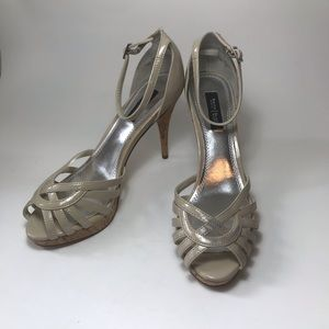 White House Black Market Strappy Heels- Size 6.5